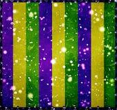 Happy Mardi Grass Background Stock Photo