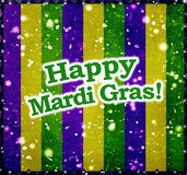 Happy Mardi Grass Background Royalty Free Stock Images