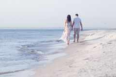 Happy maried adult couple Royalty Free Stock Photos