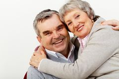Happy in marriage Royalty Free Stock Photo