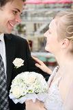 Happy married Royalty Free Stock Images