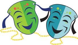 Happy Masks Royalty Free Stock Photos