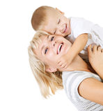 Happy Mather with Baby Stock Image