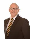 Happy mature businessman Stock Image