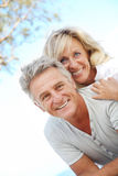 Happy mature couple Stock Image