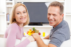 Happy mature couple. Royalty Free Stock Photography