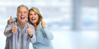 Happy mature couple. Royalty Free Stock Photos
