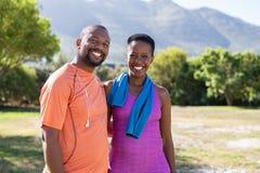 Happy mature couple portrait royalty free stock images