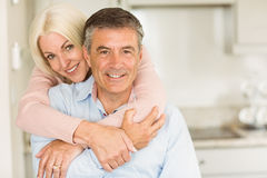 Happy mature couple smiling together Royalty Free Stock Images