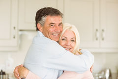 Happy mature couple smiling together Royalty Free Stock Photo