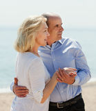 Happy mature couple together Royalty Free Stock Photos