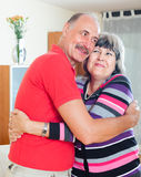 Happy  mature couple together Stock Photos