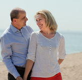 Happy mature couple together Stock Photography