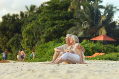 Happy Mature couple on vacation Stock Photo