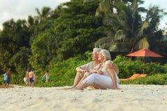Happy Mature couple on vacation Stock Photo