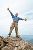 Happy mature the man Royalty Free Stock Image