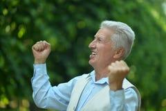 Happy mature man Royalty Free Stock Image