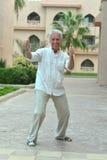 Happy mature man Stock Photography