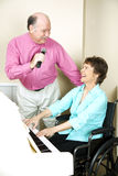 Happy Mature Musicians Royalty Free Stock Image