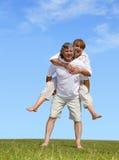 Happy mature pair Stock Image