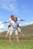Happy mature pair Stock Images