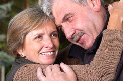 Happy mature people Royalty Free Stock Images