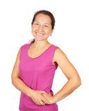 Happy mature woman Royalty Free Stock Photo