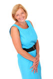 Happy mature woman Royalty Free Stock Images