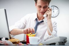Happy meal Royalty Free Stock Image