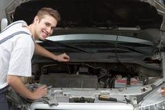 Happy mechanic Stock Photos