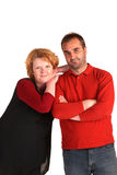 Happy med age couple Stock Photography