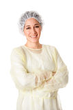 Happy medical assistant Royalty Free Stock Image