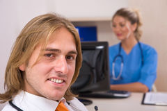 Happy medical doctors Stock Photography