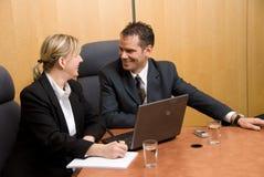 Happy meeting Stock Photos