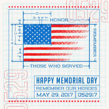 Happy Memorial Day Royalty Free Stock Photography
