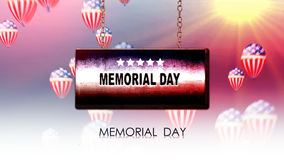 Happy memorial  day Royalty Free Stock Images