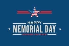 Free Happy Memorial Day Sign  Stock Photos - 180895883