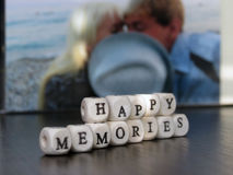 Happy memories Royalty Free Stock Photography