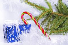 Happy Merry Christmas abstract photo. Some decorations stock photos