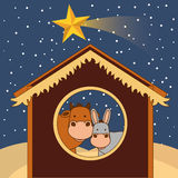 Happy merry christmas Stock Images