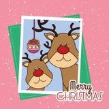 Happy merry christmas Royalty Free Stock Photo