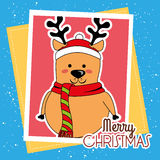 Happy merry christmas Royalty Free Stock Image