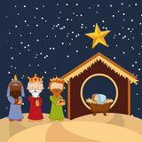 Happy merry christmas design Royalty Free Stock Images