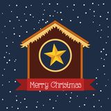 Happy merry christmas design. Vector illustration eps10 graphic Royalty Free Stock Images