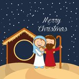 Happy merry christmas design. Vector illustration eps10 graphic Royalty Free Stock Photos