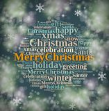 Happy Merry Christmas. Royalty Free Stock Photography