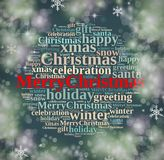 Happy Merry Christmas. Royalty Free Stock Photos
