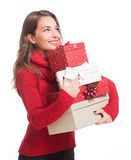 Happy merry Christmas. Stock Images