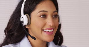 Happy Mexican customer service. A Happy Mexican customer service Royalty Free Stock Images