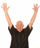 Happy middle aged man Stock Photography